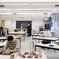 Interior, Manhattan Village Academy, Project #0807, 1996 (Ms1992-019)