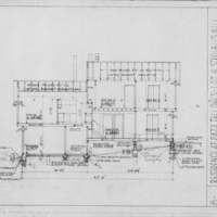 Section Drawing, Stroubles Mill Residence (Ms1991-025)