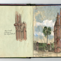 Travel Sketchbook, San Miguel Allende (Ms1997-006)