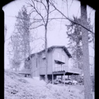 Photograph, unidentified single-family residence exterior (Ms2004-004)