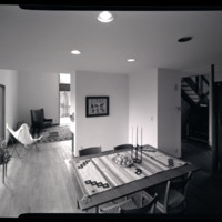 Photograph, interior of unidentified single-family residence (Ms2004-004)