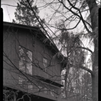 Photograph, balcony of unidentified single-family residence (Ms2004-004)