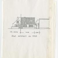 Design Sketches, Perelman Residence, Brussels, Belgium, n.d. (Ms2011-074)