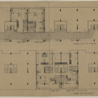 Architectural Drawing, Multifamily Residence (Ms2013-059)